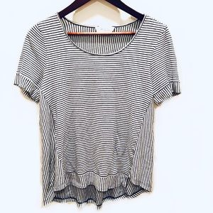 Two by Vince Camuto striped scoop neck t shirt